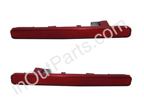 Tail Lights in rear bumper for HONDA ACCORD 2008 2009 2010 2011 2012 2013 Rear Reflector Light Pair