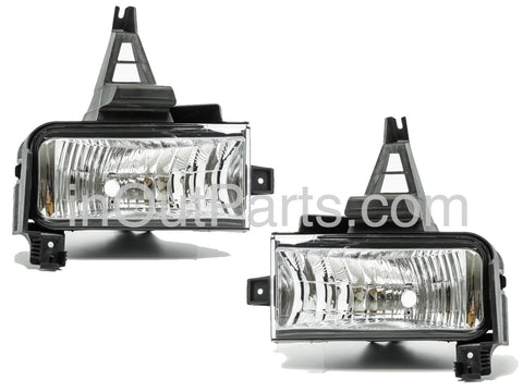 Fog Lights fits TOYOTA LAND CRUISER 200 2007 2008 2009 2010 2011 2012 Clear Driving Lamps Pair SET