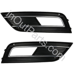 Cover Fog Lights for Audi A4 2011 2012 2013 2014 2015 Bezel Driving Lamps Pair Quality - Inout Parts