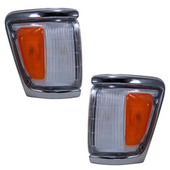 Front Turn Signal Lights fits TOYOTA HILUX, SURF, 4RUNNER 1991 1992 1993 1994 1995 1996 1997 PAIR