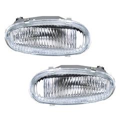 Fog Lights fits CHEVROLET, DAEWOO LANOS 1997 1998 1999 2000 2001 - 2008 Left + Right Driving Lamps - Inout Parts