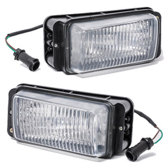 Fog Lights - Driving Lamps fits AUDI 100 1983 1984 1985 1986 1987 1988 1989 1990 MERCEDES Pair Quality - Inout Parts
