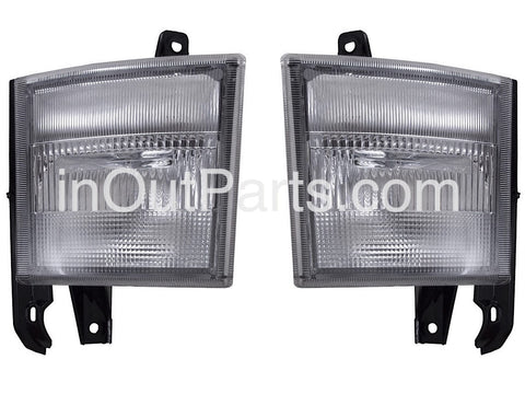 fits MITSUBISHI FUSO 1993 - 2000 Truck Turn Signal Light Marker Parking Corner PAIR