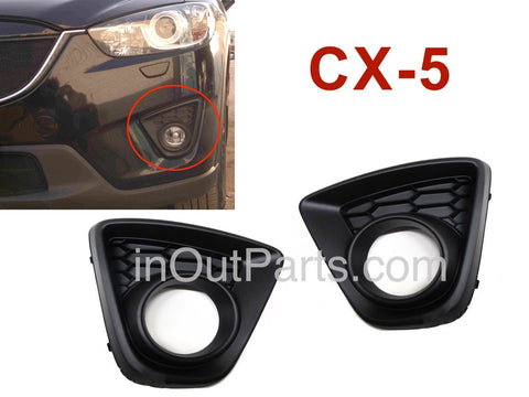 Cover Fog Lights MAZDA CX-5 2012 2013 2014 2015 2016 Cover Driving Lamps Pair Quality