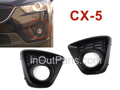 Cover Fog Lights MAZDA CX-5 2012 2013 2014 2015 2016 Cover Driving Lamps Pair Quality - Inout Parts