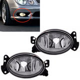 Fog Lights Clear fits Mercedes W211 2006 - 2009 / W204 2006 - 2016 / G-CLASS 2006 - 2016 / W245 2009 - 2011 - Pair