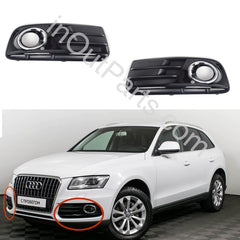 Cover Fog Lights for Audi Q5 2012 2013 2014 2015 2016 2017  Bezel Driving Lamps Pair Quality - Inout Parts