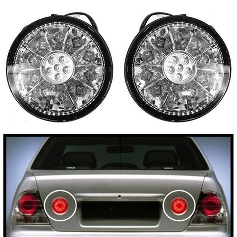Tail Lights inner Trunk LED fits TOYOTA ALTEZZA / fits LEXUS IS200 / 300 1998-2005 Rear Lamps RIGHT+LEFT PAIR - CHROME