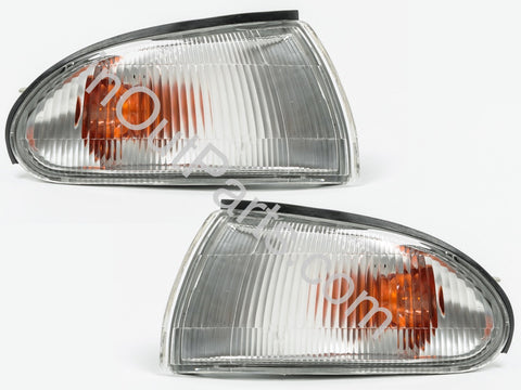 Front Turn Signal fits Mitsubishi Lancer LIBERO 1991 1992 1993 1994 1995 Light Marker Parking Corner PAIR