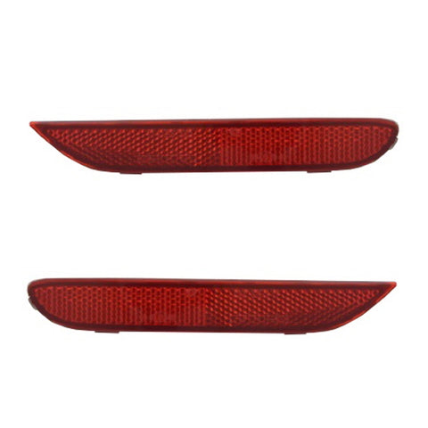 Rear Reflector Lights Pair in Rear Bumper fits INFINITI QX56 2010 - 2013 / QX80 2013 - 2017