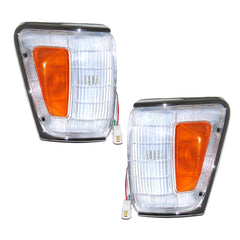 Front Turn Signal Lights fits TOYOTA HILUX / SURF / 4RUNNER 1988 1989 1990 1991 Parking Corner PAIR