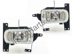 Fog Lights fits MAZDA 626, Capella 1997 - 2000 / Demio 1998 - 2002 Clear - Driving Lamps Pair - Inout Parts
