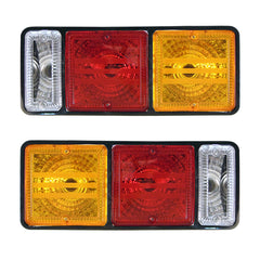 Tail Lights fits MITSUBISHI CANTER 1994 1995 1996 1997 1998 1999 2000 2001 2002 Rear lamps CRYSTAL