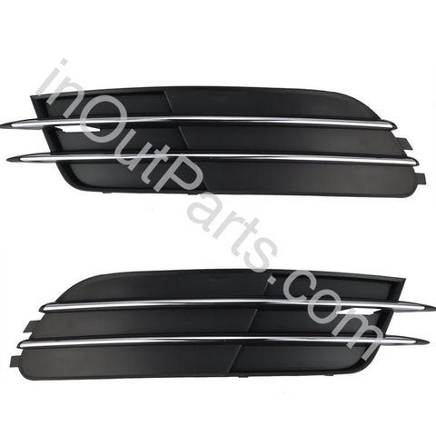 Cover in Bumper Fog Lights for Audi A6 2011 2012 2013 2014 Cover Pair