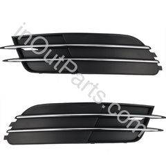 Cover in Bumper Fog Lights for Audi A6 2011 2012 2013 2014 Cover Pair - Inout Parts