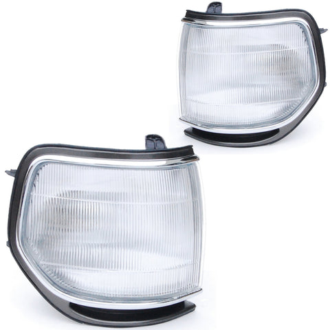 Turn Signal Lights Toyota Land Cruiser 80 1990 1991 1992 1993 1994 1995 1996 1997 1998 Marker Parking Corner PAIR