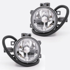 Fog Lights - Clear Driving Lamps fits HONDA CR-V 1999 2000 2001 / HR-V 1998 - 2005 Pair Quality - Inout Parts