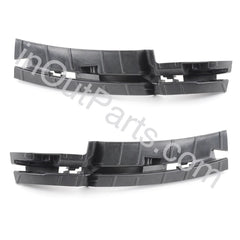 Bumper Retainer Support Bracket for AUDI Q5 2008 2009 2010 2011 2012 2013 2014 2015  Left & Right Pair FOR SPOILER - Inout Parts