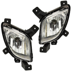 Fog Lights for Hyundai TUCSON 2010 2011 2012 2013 2014 2015 Driving Lamps Pair Quality SUPER IX35 - Inout Parts