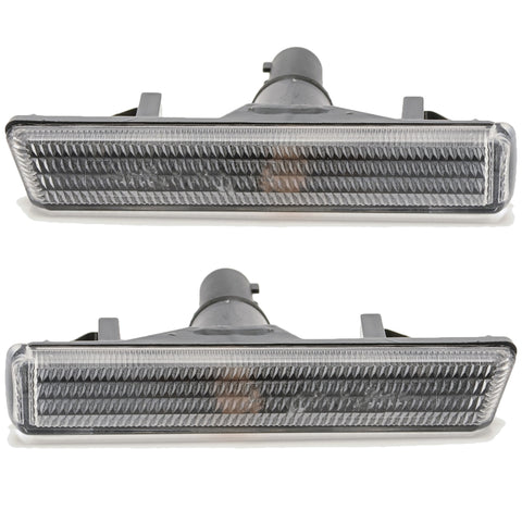 Side Marker Indicator fits BMW E38 1994 1995 1996 1997 1998 Turn Signal Light WHITE PAIR 728, 730, 735, 740, 725, 750