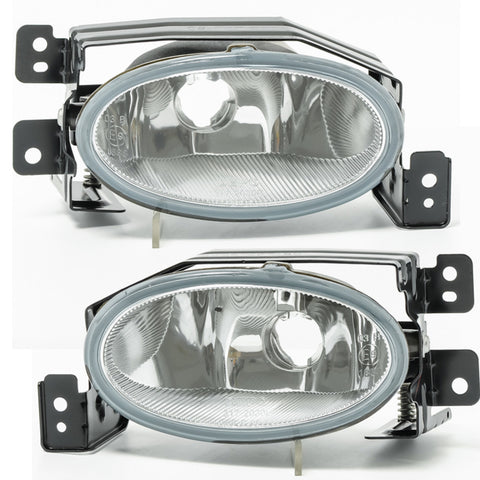 Fog Lights fits Honda ACCORD 2005 2006 2007 2008 - Clear Driving Lamps Pair Quality