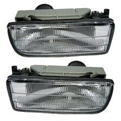 Fog Lights fits BMW E36 1990-2000 Driving Lamps Pair Quality 63178357390, 63171387092 - Inout Parts