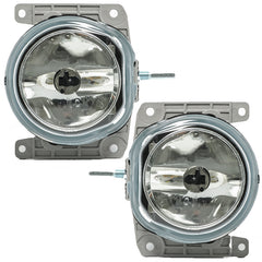 Fog Lights fits FIAT DUCATO 2002 2003 2004 2005 2006 Clear Driving Lamps Pair Quality - Inout Parts