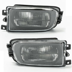 Fog Lights for BMW E39 1995 1996 1997 1998 1999 2000 - Driving Lamps Pair Quality 530 540 520 525 - Inout Parts