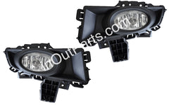 Fog Lights fits Mazda 3 2006 2007 2008 Clear - Driving Lamps Pair - SEDAN - Inout Parts