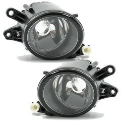 Fog Lights - Clear Driving Lamps fits AUDI A4 2001 2002 2003 2004 2005  Pair Quality - Inout Parts