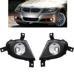 Fog Lights fits BMW E90 2008 2009 2020 2011 Clear Driving Lamps Pair Quality 3-er - Inout Parts