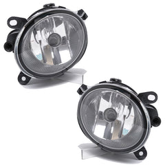 Fog Lights - Clear Driving Lamps fits AUDI A6 2005 2006 2007 2008  Pair Quality - Inout Parts