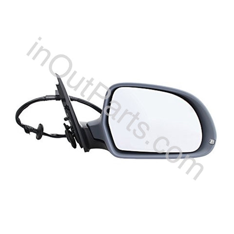 Mirror Right for Audi A4 2008 2009 2010 2011 Passenger Side 8 contacts