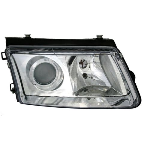 Headlights for Volkswagen PASSAT B5 1997 1998 1999 2000 Right Passenger Side - Clear