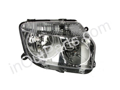 Headlight Right for RENAULT DUSTER 2010 2011 2012 2013 2014 2015 2016 Passenger Side - CHROME