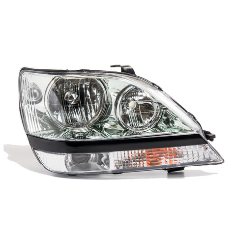 Headlight Right fits LEXUS RX300 1997 - 2003 fits Toyota HARRIER Headlamp Passenger Side - Clea