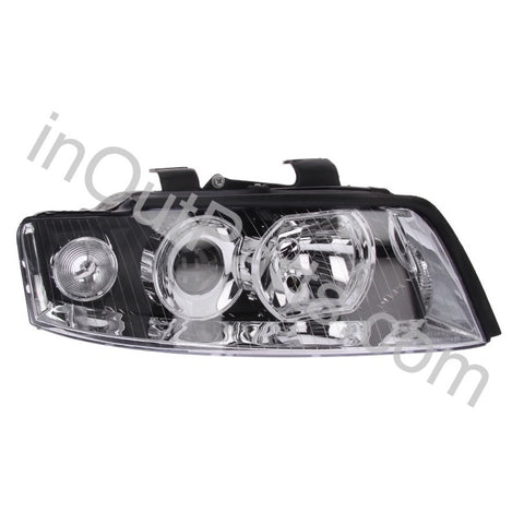 Headlight RIGHT for Audi A4 2001 2002 2003 2004 2005 Passenger Side