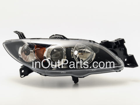 Headlights for MAZDA 3 / AXELA 4D 2003-2008 Headlights Right Passenger Side - Electronic Corrector Sedan