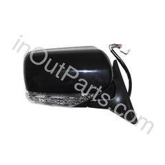 Mirror Right for SUBARU FORESTER 2005 2006 2007 2008 RIGHT Side - 10 Contacts Heat Fold Level