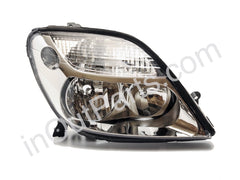 Headlight Right for RENAULT MEGANE SCENIC (1) 1999 2000 2001 2002 Passenger Side - white chrome, leveling