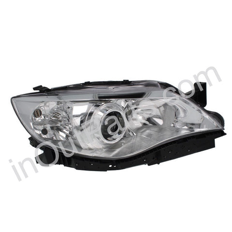 Headlight Right fits SUBARU IMPREZA 2008 2009 2010 Headlamp Right Electric Leveling