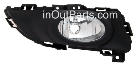 Fog Lights fits Mazda 3 2004 - 2008 5 doors Hatch Clear Driving Lamps Pair