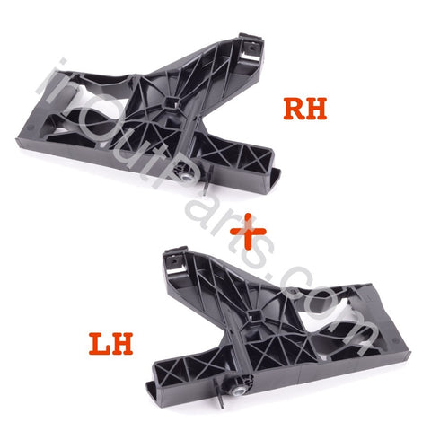 Retainer Support Bracket for Headlight for Audi A6 2011 2012 2013 2014 Left+Right Pair