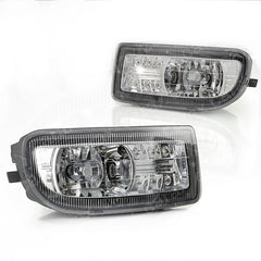 Fog Lights Led Toyota Land Cruiser 100 1998 1999 2000 2001 2002 2003 2004 2005 2006 2007 Driving Lamps Left & Right Pair - Inout Parts