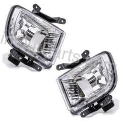 Clear Fog Lights Driving Lamps for HYUNDAI GETZ 2002 2003 2004 2005  Left & Right Pair Set - Inout Parts