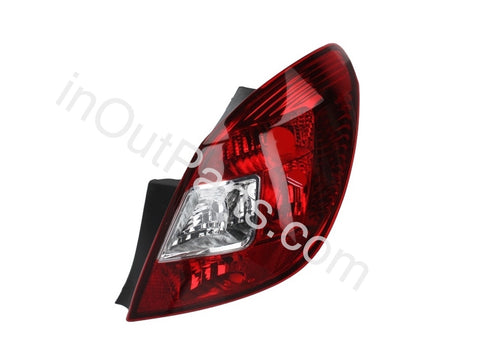 Tail Light Right for Opel Corsa 5 Doors - 2007 2008 2009 2010 2011 2012 2013 Rear Lamp Hatchback