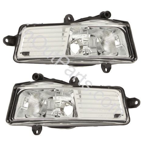 Fog Lights Pair for Audi A6 2008 2009 2010 2011 Driving Lamps Left+Right