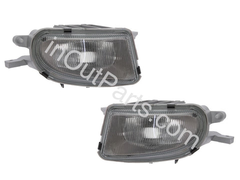 Fog Lights fits MERCEDES W210 - 1998 1999 2000 2001 2002 Left + Right Driving Lamp - Pair