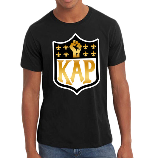 Saints Support Kap Custom Tee