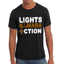 Lights, Kamara, Action Saints Custom Tee